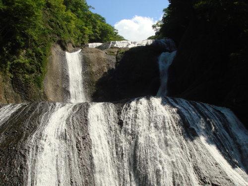 ①袋田の滝