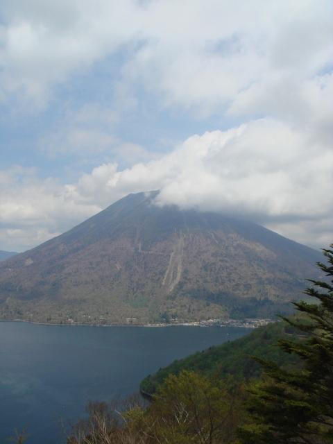 ⑤中禅寺湖と男体山☆